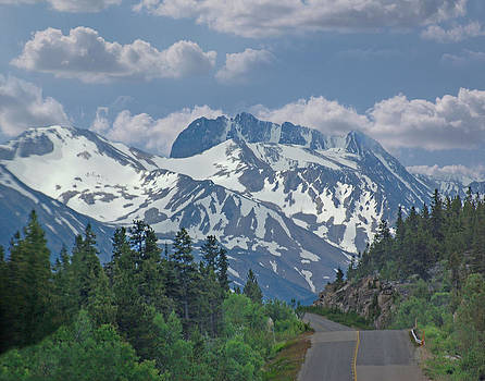 God's Canvas    Alaskan Highway by Charles Frieda