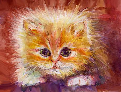 Olga Kaczmar - Gold Tabby Kitten