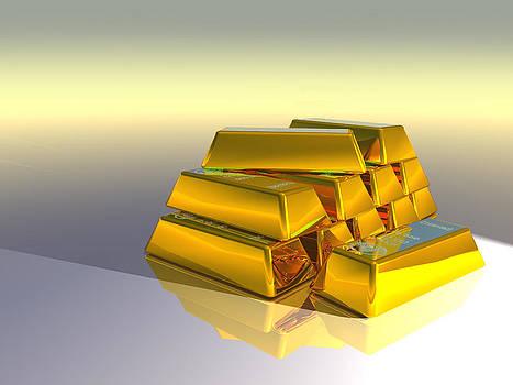 Golden Bars by Erik Tanghe