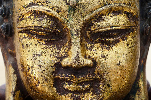 Margaret Pitcher - Golden Buddha No.2