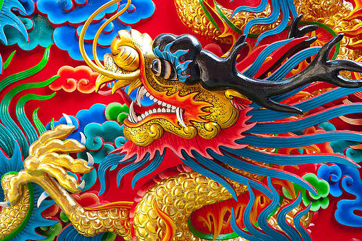 Golden Dragon by Subpong Ittitanakul