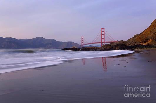 Golden Gate Bridge at Sunset by Matt Tilghman