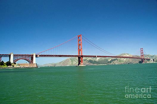 Tim Mulina - Golden Gate Bridge In Summer
