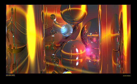 Golden gate by Erik Tanghe