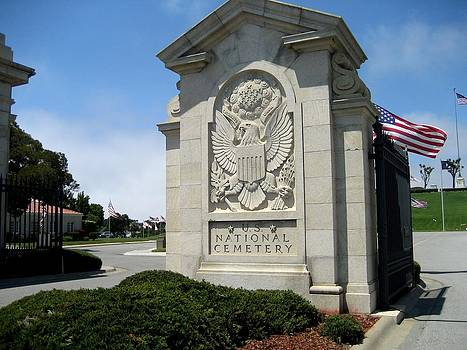 Golden Gate National Cemetery - Entrance by Dany Lison