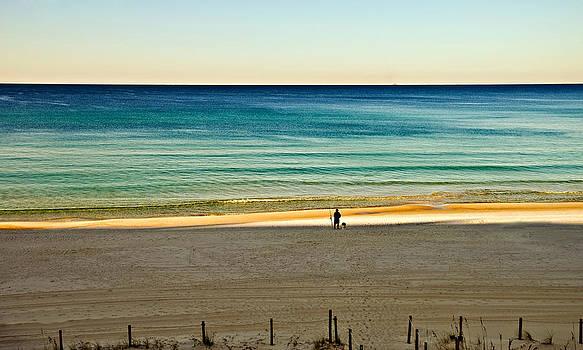 Golden Hour Fishing by Susan Leggett