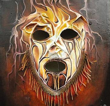 Golden mask by Yenaye  Rene Mkerka