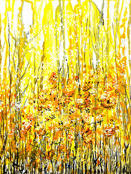 Golden Meadow by Elaine Hodges