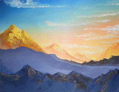 Golden Morning by Ramakant Varma