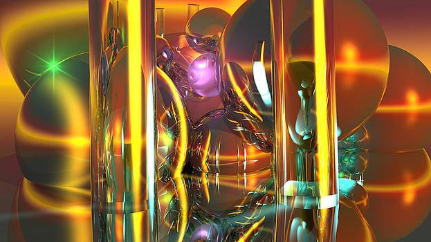 Golden Pilars by Erik Tanghe