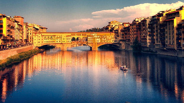 Golden Ponte Vecchio by Daniel Sands