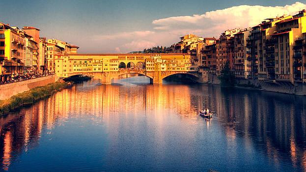 Golden Ponte Vecchio by Daniel Sands