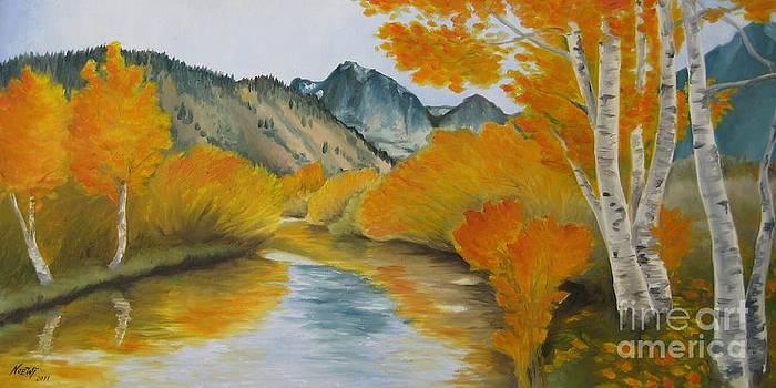 Jindra Noewi - Golden Serenity
