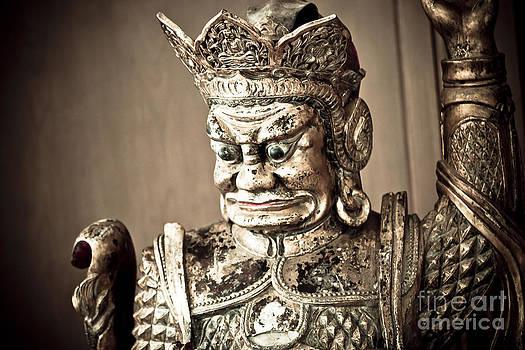 Darcy Michaelchuk - Golden Statue Antique