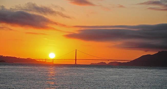Golden sunset by Srikanth Srinivasan
