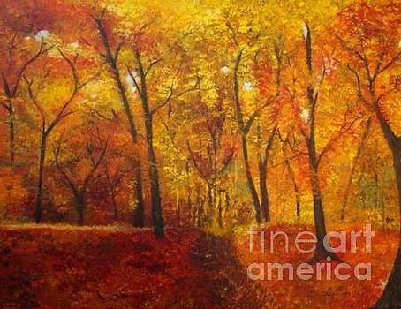 Golden Woods by Laura Stisser
