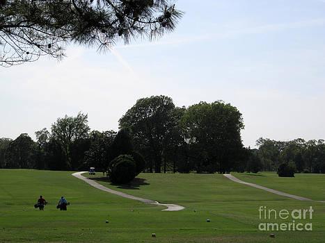 Golfing by Karen Francis