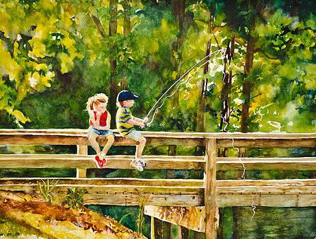 Gone Fishin' by Linda Broome