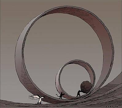Good and Evil by Janusz Kapusta