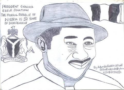 Goodluck ebele jonathan by Ademola Kareem Oshodi