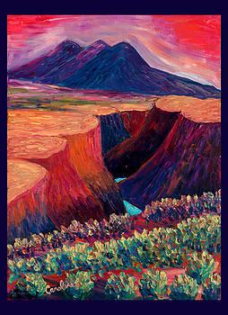 Gorge by Carolene Of Taos