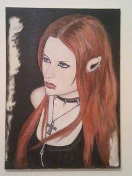 Gothic Girl by Yan Michalevsky