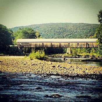 Gotta Love Vermont! #coveredbridge by Laura Vaillancourt