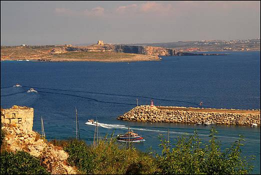 Gozo Channel by Gunnar Boehme