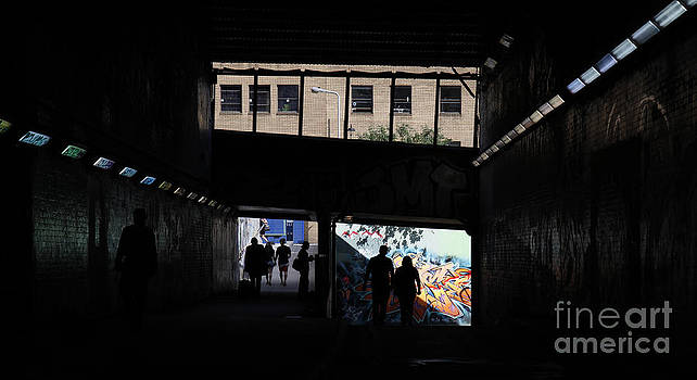 Graffiti Silhouette by Urban Shooters