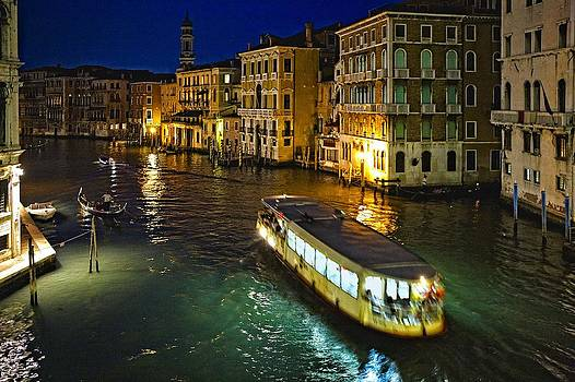 Grand Canal from Rialto Bridge by  Samdobrow  Photography