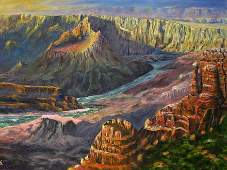 Grand Canyon Shadows by Thomas Restifo