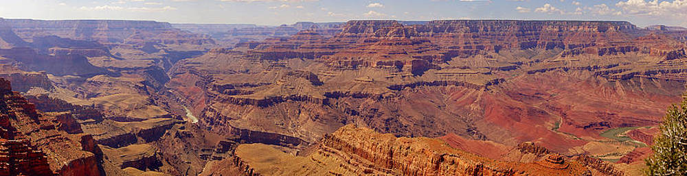 Grand Canyon South Rim Panorama by Wendy Emel