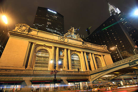 Grand Central Terminal Sensory Overload by Dave Sribnik
