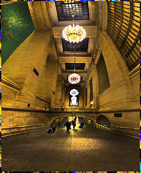 Grand Central Terminal Walkway by Bill Orcutt