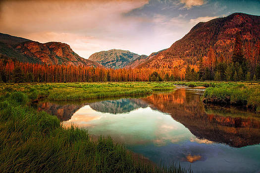 Grand Lake Area Rocky Mountain National Park 2714  by Ken Brodeur