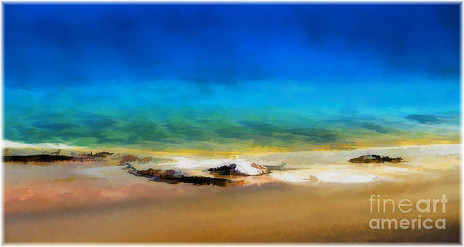 Grand Prismatic Spring Yellowstone by George Hodlin