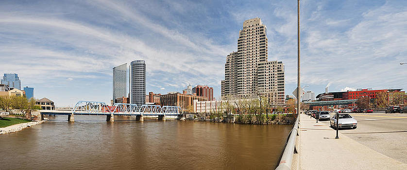 Grand River through Grand Rapids by Rich Beer