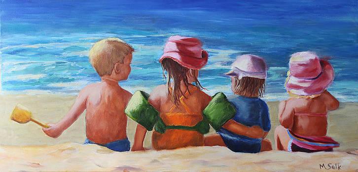 Grandkids by Michele Selk