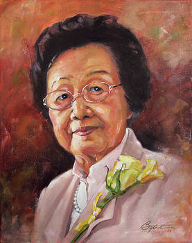 Grandma Yau by Todd Baxter