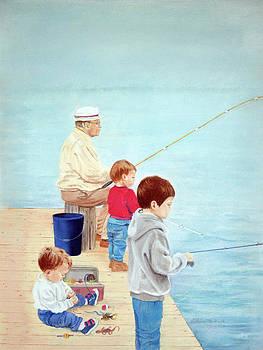 Grandpa And The Boys by LaReine McIlrath