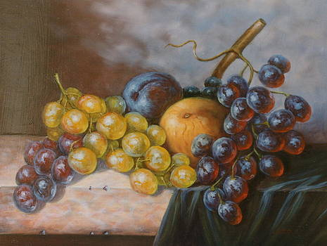 Grape composition by Erika Lukacs