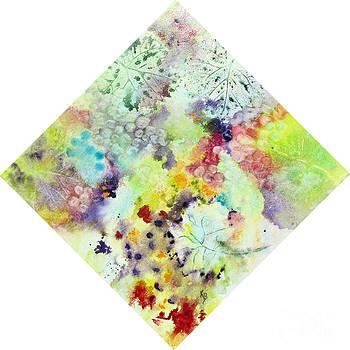 Grapes and Leaves VII by Karen Fleschler