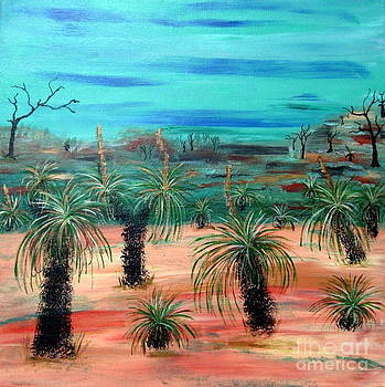 Grass Trees by Jackie Hoeksema