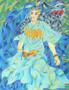 Grassland Goddess by George Zhang