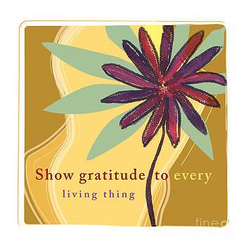 Gratitude by Nancie Teresa