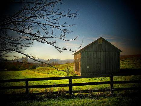 Gray Mountain Barn by Joyce Kimble Smith