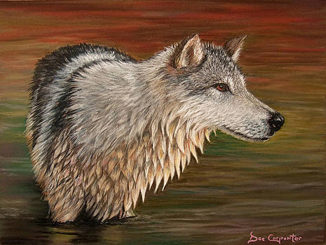 Dee Carpenter - Gray Wolf