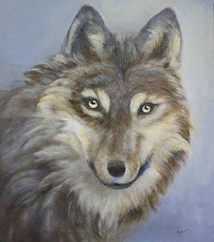 Gray Wolf by John Neal Mullican