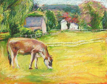 Grazing Cows by Bethany Bryant
