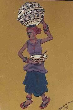 Great Fulani woman by Adetoun Adetimehin